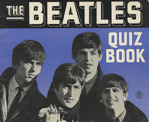 The Beatles Quiz Book book UK BTLBKQU337670