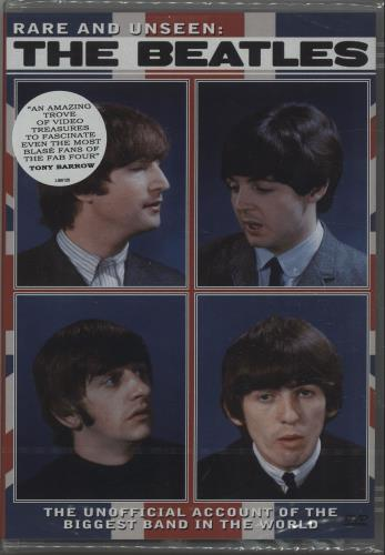 The Beatles Rare And Unseen DVD UK BTLDDRA673297