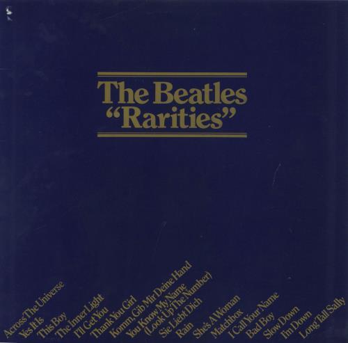 The Beatles Rarities - 1st - EX vinyl LP album (LP record) UK BTLLPRA673779