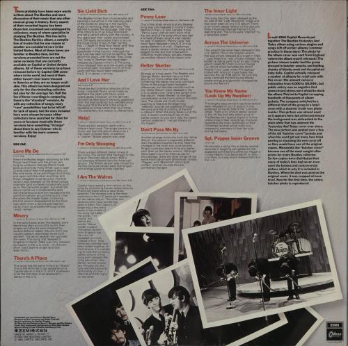 The Beatles Rarities vinyl LP album (LP record) Japanese BTLLPRA764686