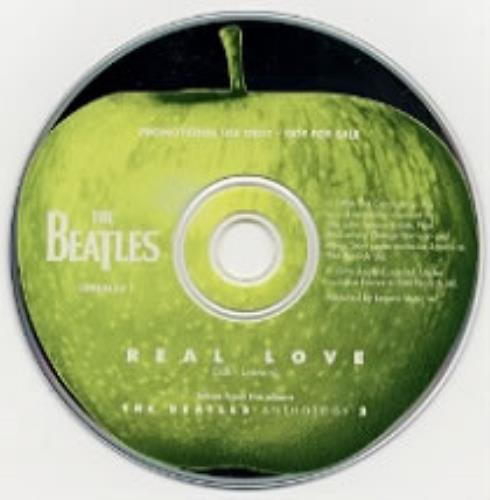"The Beatles Real Love CD single (CD5 / 5"") UK BTLC5RE61387"