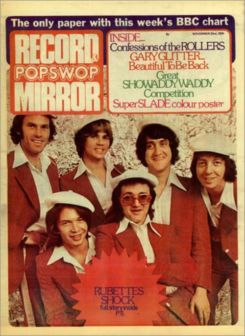 The Beatles Record & Popswop Mirror - November 1974 magazine UK BTLMARE496846