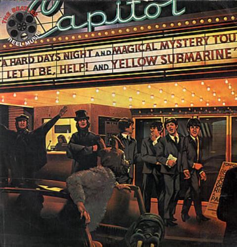 The Beatles Reel Music Carrete De Musica Peruvian Vinyl