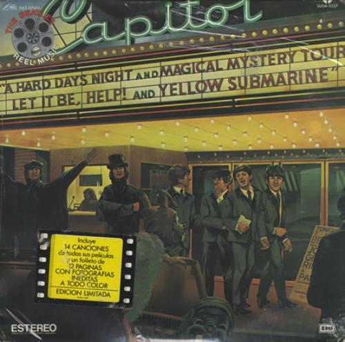 The Beatles Reel Music - Sealed vinyl LP album (LP record) Mexican BTLLPRE405134