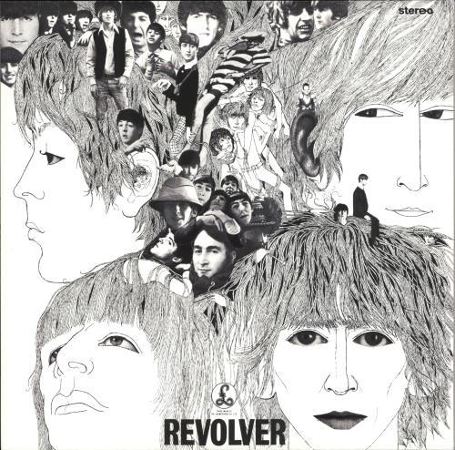 The Beatles Revolver - 180gm Vinyl vinyl LP album (LP record) UK BTLLPRE709238