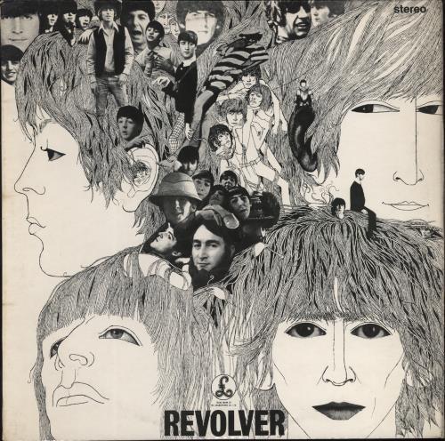 The Beatles Revolver - 2nd vinyl LP album (LP record) UK BTLLPRE330093