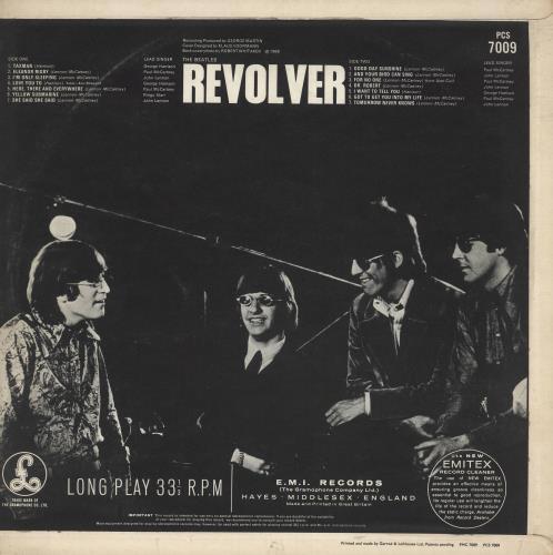 The Beatles Revolver - 3rd - EX vinyl LP album (LP record) UK BTLLPRE638066