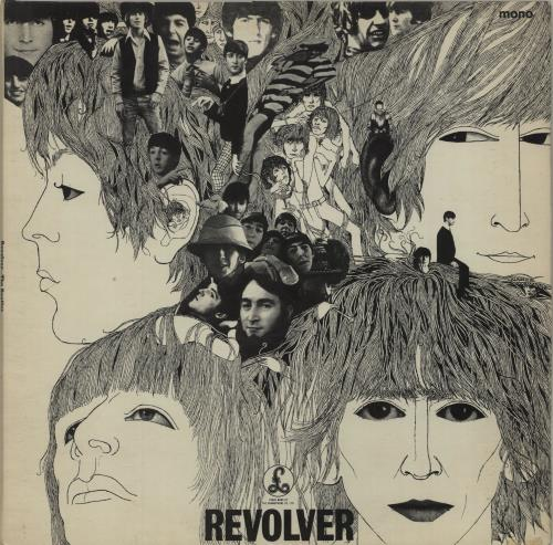 The Beatles Revolver - 3rd - VG vinyl LP album (LP record) UK BTLLPRE628187