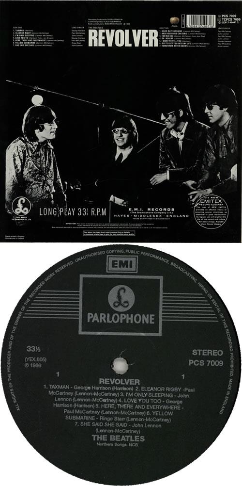 The Beatles Revolver - DMM vinyl LP album (LP record) UK BTLLPRE271796