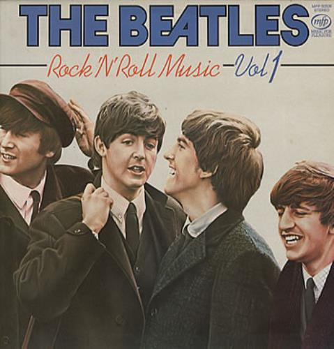 The Beatles Rock 'N' Roll Music Vol. 1 vinyl LP album (LP record) UK BTLLPRO334431