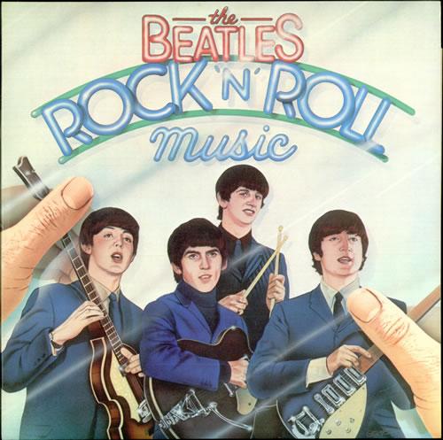 The Beatles Rock 'N' Roll Music 2-LP vinyl record set (Double Album) UK BTL2LRO171360