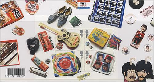 The Beatles Royal Mail Mint Stamps Presentation Pack memorabilia UK BTLMMRO387651