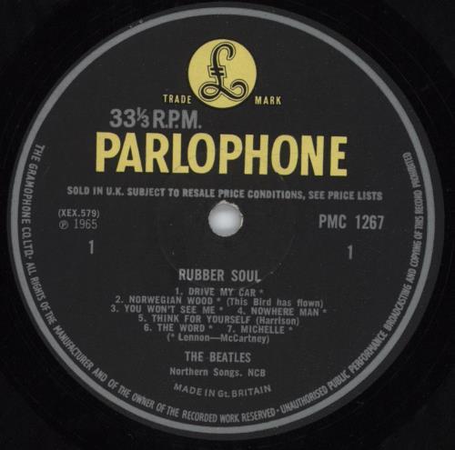 The Beatles Rubber Soul - 1st - Loud Cut - EX vinyl LP album (LP record) UK BTLLPRU297728