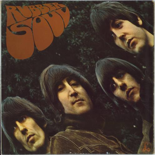 The Beatles Rubber Soul - 1st - VG vinyl LP album (LP record) UK BTLLPRU268123