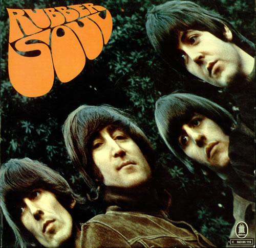 The Beatles Rubber Soul - Light Blue Label vinyl LP album (LP record) German BTLLPRU501109