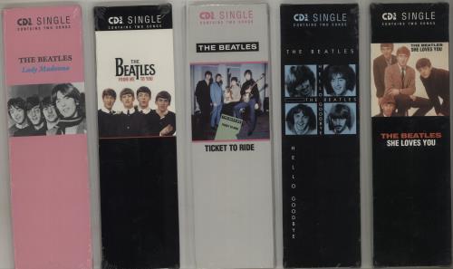 """The Beatles Set Of 21 Sealed US 3"""" CD Singles 3"""" CD single (CD3) US BTLC3SE685670"""