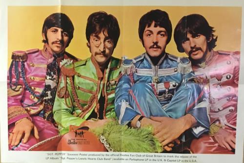 The Beatles Sgt. Pepper Souvenir Fan Club Poster poster UK BTLPOSG318334