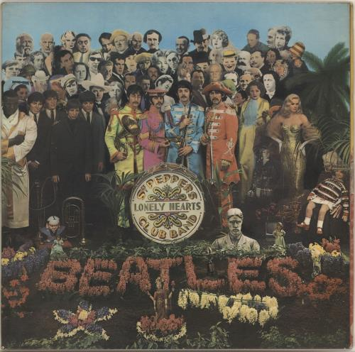 The Beatles Sgt. Pepper's - 1st - EX vinyl LP album (LP record) UK BTLLPSG213525