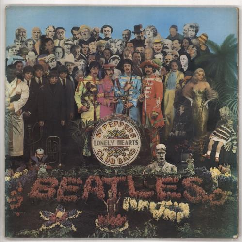 The Beatles Sgt. Pepper's - 1st vinyl LP album (LP record) UK BTLLPSG149878