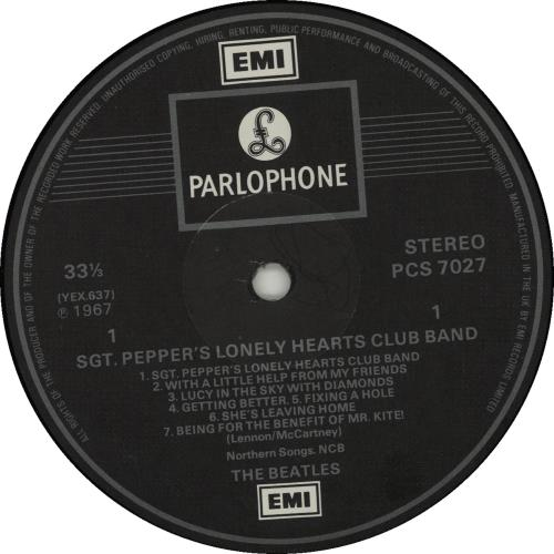 The Beatles Sgt. Pepper's - 2 Box - All Rights - Barcode - EX vinyl LP album (LP record) UK BTLLPSG663512
