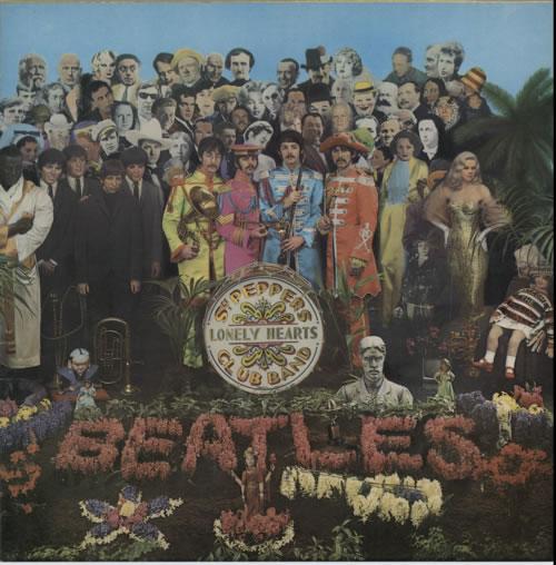 The Beatles Sgt. Pepper's - 2 Box - All Rights vinyl LP album (LP record) UK BTLLPSG618055