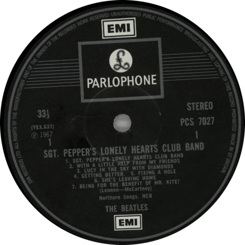 The Beatles Sgt. Pepper's - 2 Box - EMI - glossy vinyl LP album (LP record) UK BTLLPSG553846