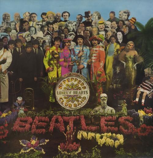 The Beatles Sgt. Pepper's - 2 box - Gram vinyl LP album (LP record) UK BTLLPSG269282