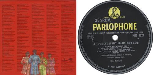 The Beatles Sgt. Pepper's - 2nd vinyl LP album (LP record) UK BTLLPSG307466