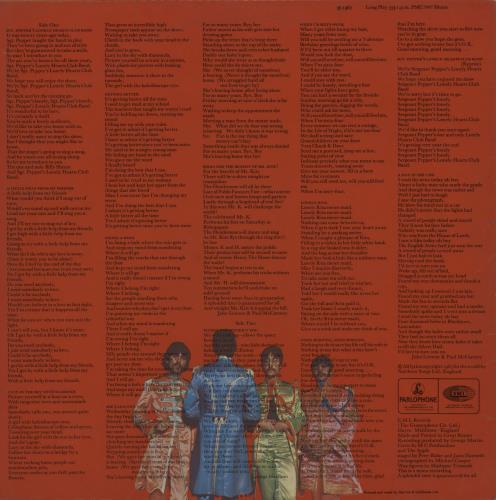 The Beatles Sgt. Pepper's - One Box - VG/EX vinyl LP album (LP record) UK BTLLPSG606334