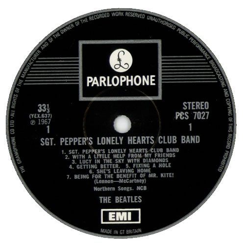 The Beatles Sgt. Pepper's - One Box vinyl LP album (LP record) UK BTLLPSG140402