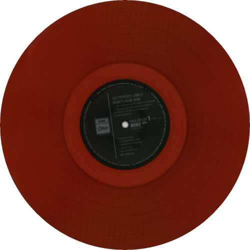 The Beatles Sgt. Pepper's - Red + 82 Obi vinyl LP album (LP record) Japanese BTLLPSG198362