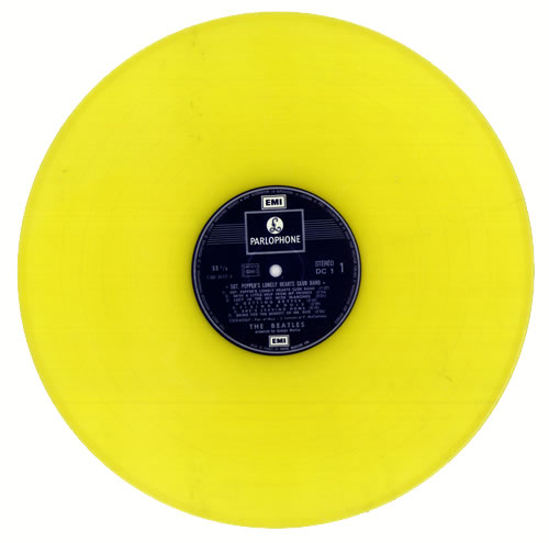 The Beatles Sgt Pepper S Yellow Vinyl French Vinyl Lp