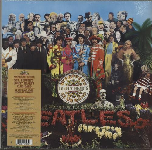 The Beatles Sgt. Pepper's Lonely Hearts Club Band - 2017 Edition - Sealed 2-LP vinyl record set (Double Album) UK BTL2LSG673470