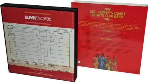 The Beatles Sgt. Pepper's Lonely Hearts Club Band - 2017 Super Deluxe Edition box set UK BTLBXSG768139