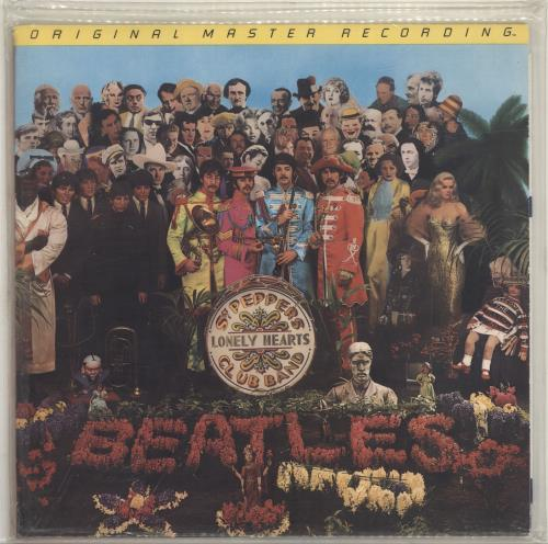 The Beatles Sgt. Pepper's Lonely Hearts Club Band - Sealed vinyl LP album (LP record) US BTLLPSG390243