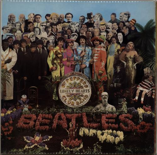 The Beatles Sgt. Pepper's Lonely Hearts Club Band vinyl LP album (LP record) Singapore BTLLPSG313782