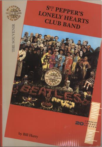 The Beatles Sgt. Pepper's Lonely Hearts Club Band book UK BTLBKSG373170