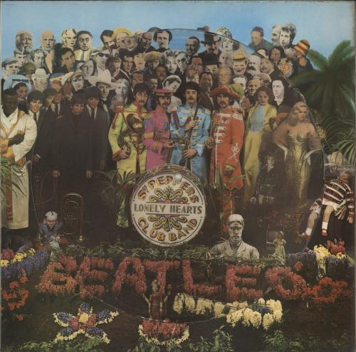The Beatles Sgt. Pepper's Lonely Hearts Club Band picture disc LP (vinyl picture disc album) UK BTLPDSG49911