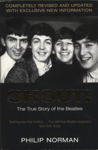 The Beatles Shout! book UK BTLBKSH403328