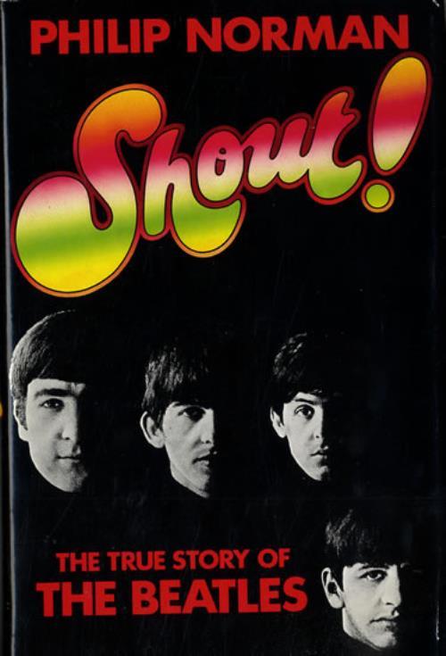 The Beatles Shout! book UK BTLBKSH555730