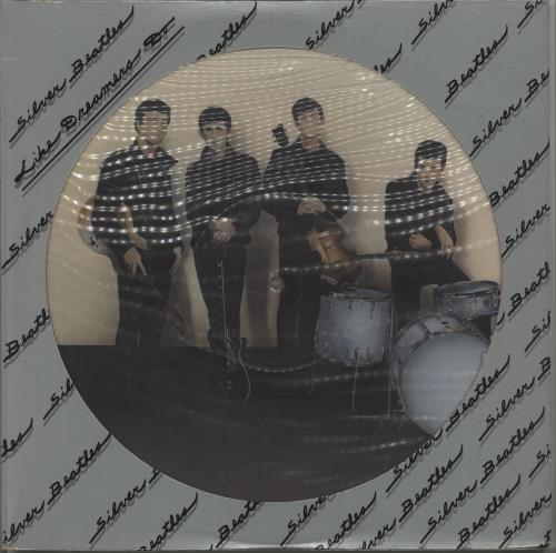 The Beatles Silver Beatles - Like Dreamers Do 3-LP vinyl record set (Triple Album) US BTL3LSI343187