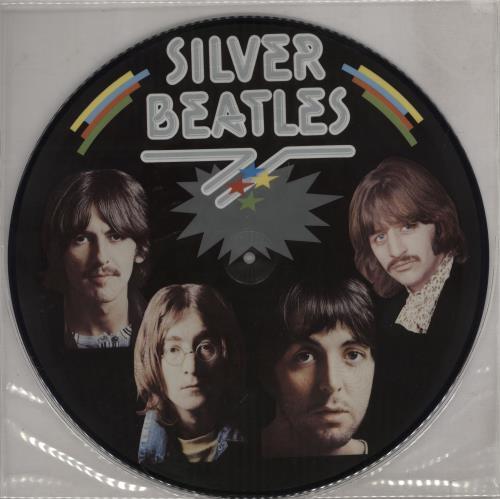 The Beatles Silver Beatles Us Picture Disc Lp Vinyl