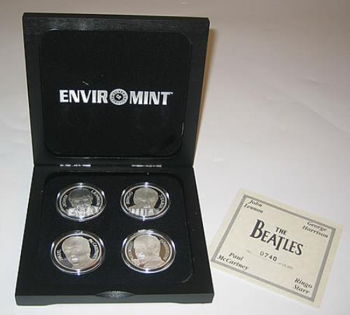 The Beatles Silver Coin Series Us Memorabilia 396971
