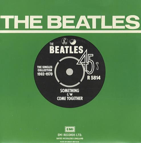 "The Beatles Something - 1976 7"" vinyl single (7 inch record) UK BTL07SO334490"