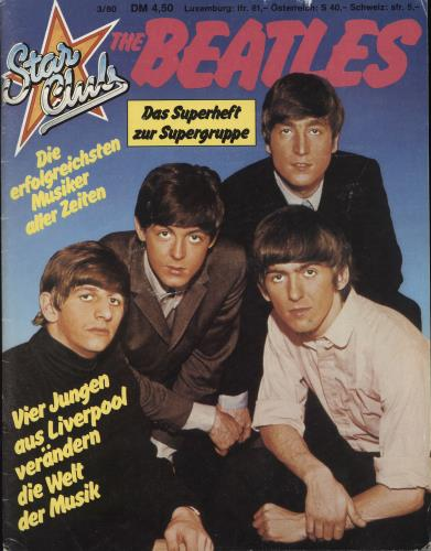 The Beatles Star Club magazine German BTLMAST710770