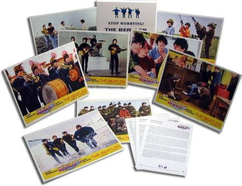 The Beatles Stop Worrying! The Beatles Help! Is On The Way! media press pack UK BTLPPST422481