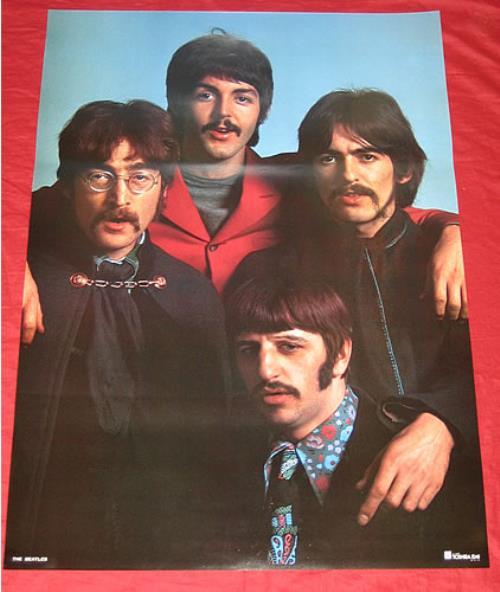 The Beatles Strawberry Fields Forever Poster Japanese BTLPOST351763