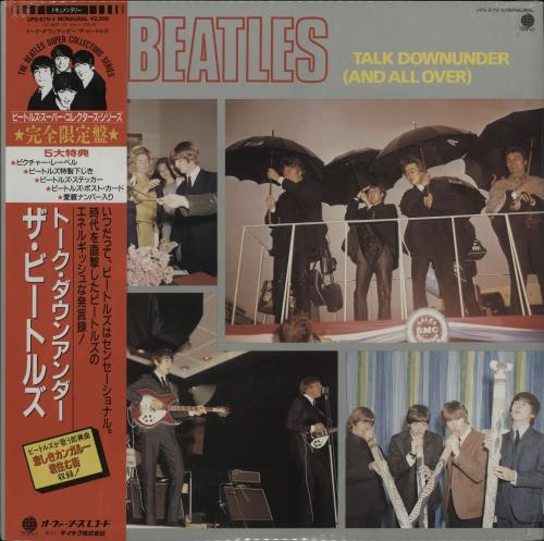 The Beatles Talk Downunder (And All Over) - Sealed vinyl LP album (LP record) Japanese BTLLPTA764680