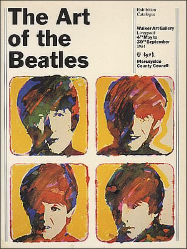The Beatles The Art Of The Beatles book UK BTLBKTH373033