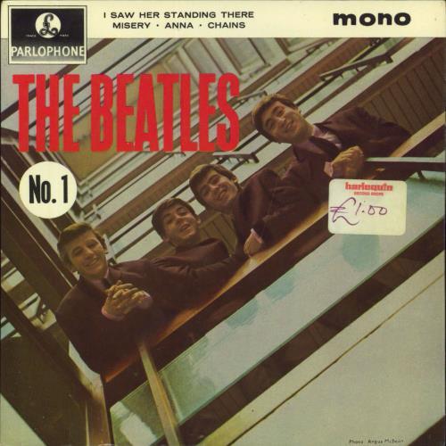 "The Beatles The Beatles (No. 1) EP - 2nd 7"" vinyl single (7 inch record) UK BTL07TH232476"